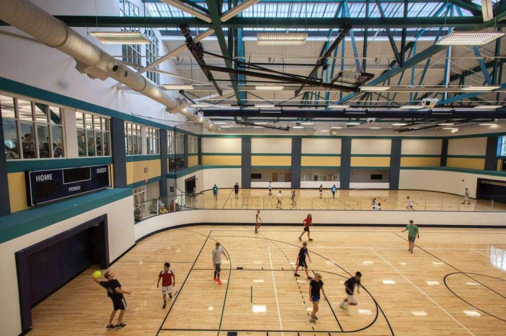 University Of Wilmington >> LHC Structural Engineers :: UNC Wilmington Student Recreation Center